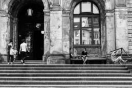 Straatbeeld Berlijn - trappen