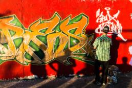 Ludovica Berlijn grafitti